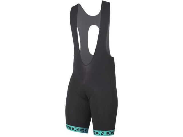 Etxeondo Orhi 19 Bib Shorts Herr black-turquoise